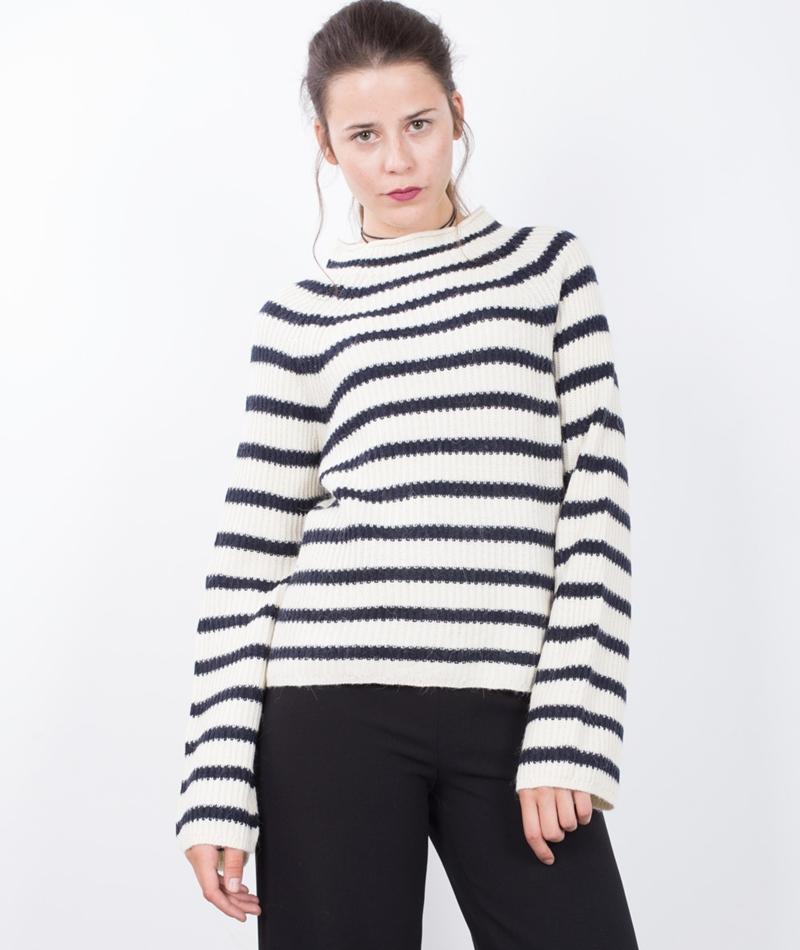 M BY M Ventura Stripe Versie Pullover