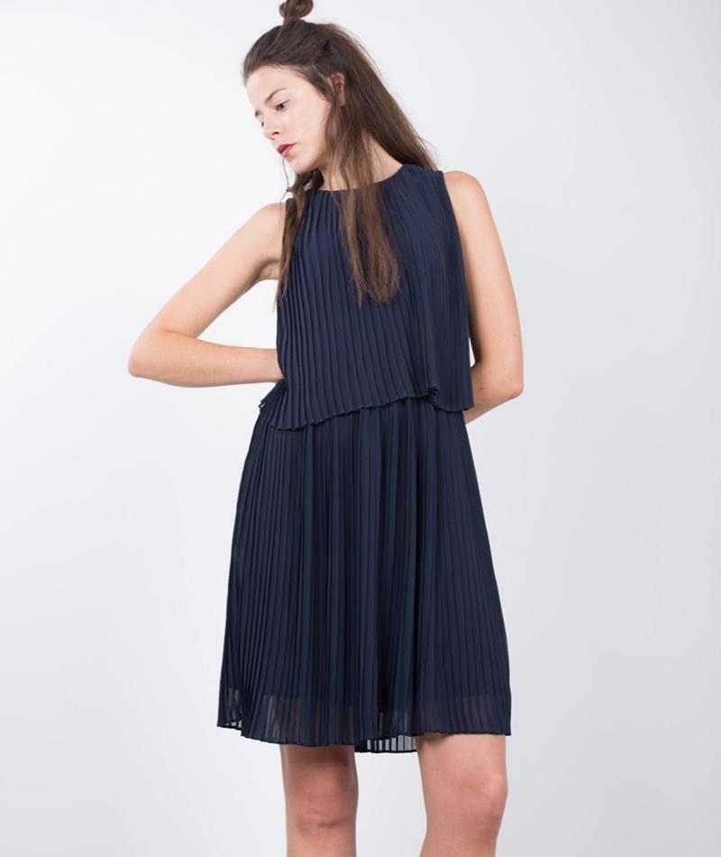 SELECTED FEMME Muki SL Pleated Kleid