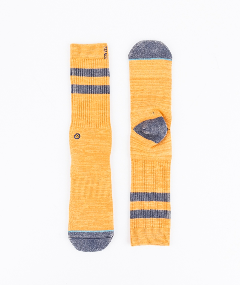 STANCE Obsidian Socken orange