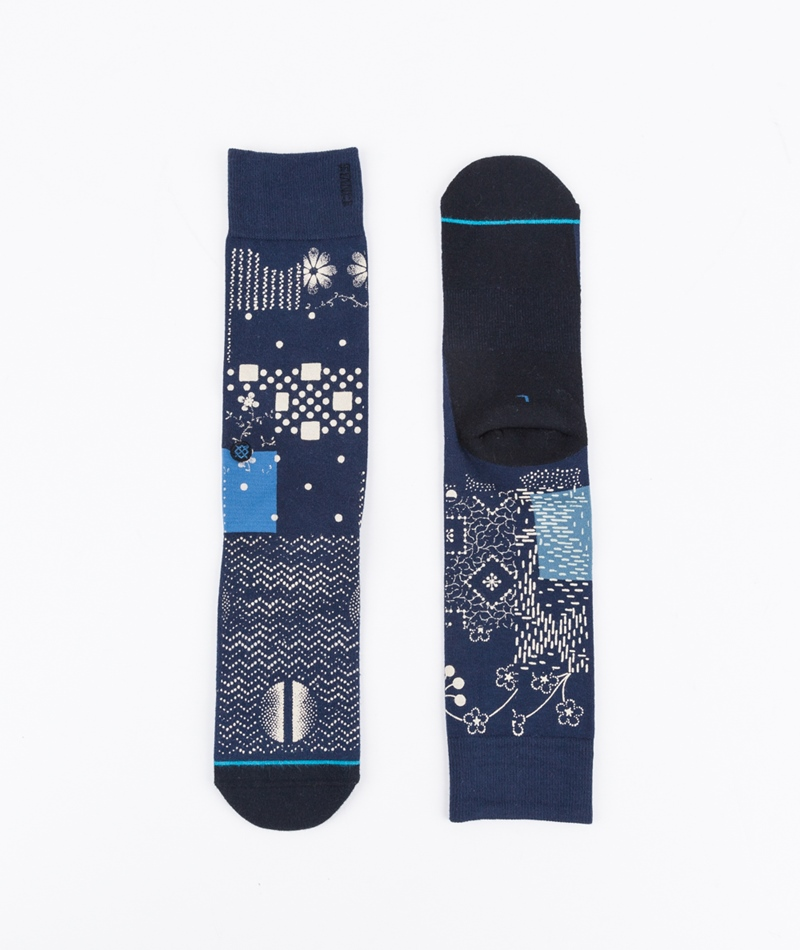 STANCE Indikon Socken blue