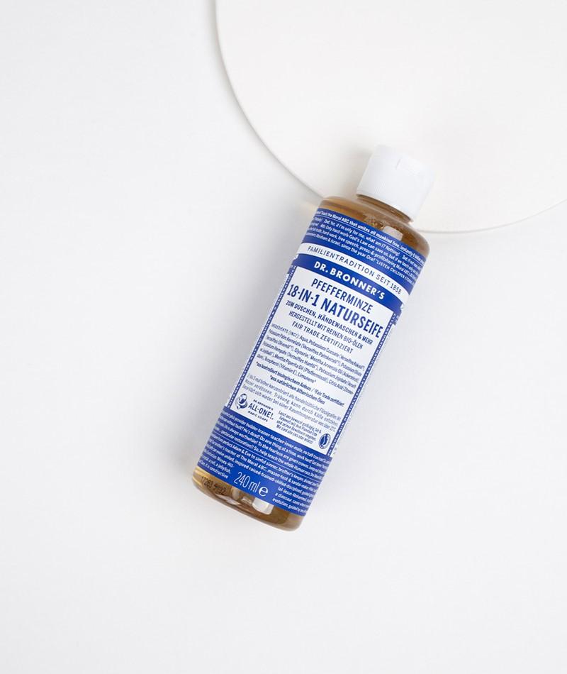 DR.BRONNER`S Liquid Soap Pfefferminze l