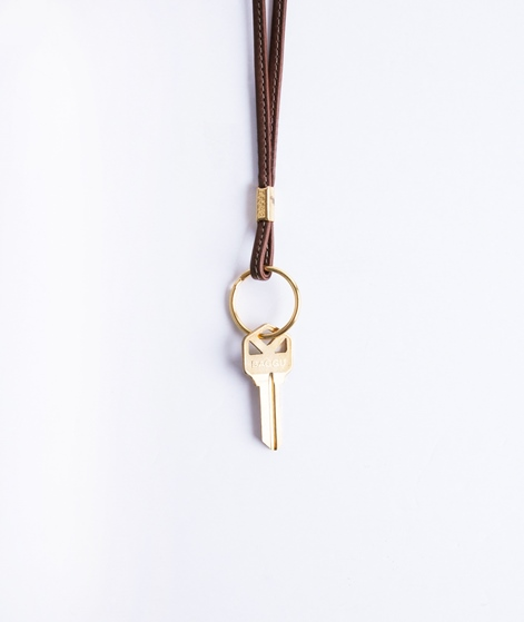 BAGGU Long Key Chain molasses