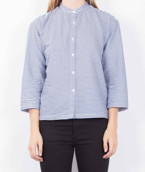MADS NORGAARD Boutique Sudin Bluse blue