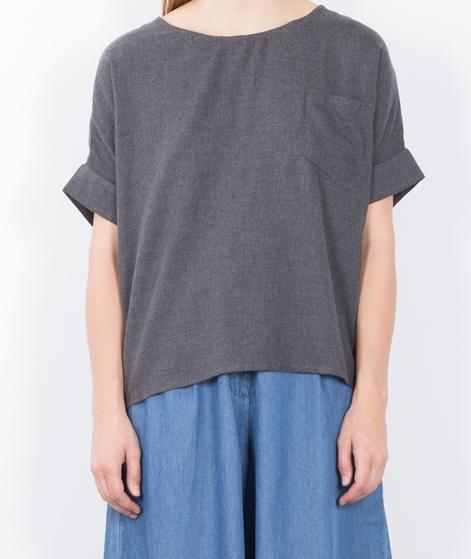 VILA Viposay S/S T-Shirt medium grey