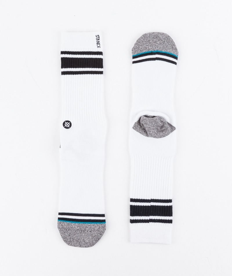 STANCE White Out Socken black