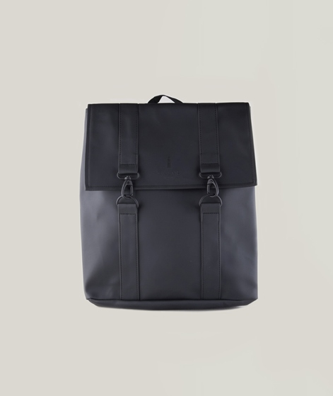 RAINS MSN Rucksack black