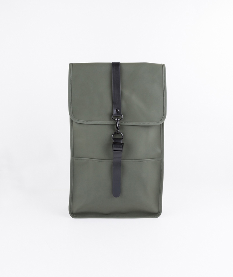 RAINS Backpack Rucksack green
