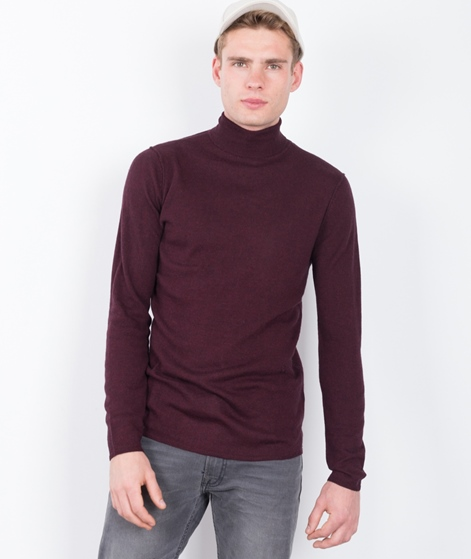 NOWADAYS Turtleneck Pullover bordeaux