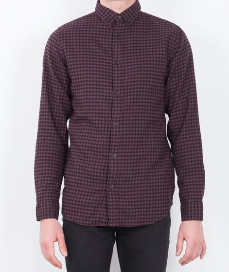 SELECTED HOMME SHHOne Gingham Hemd fudge