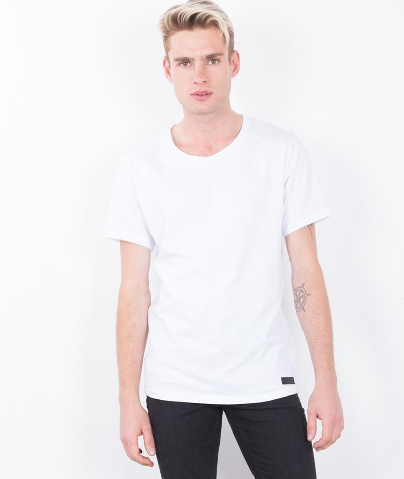 JUST JUNKIES Scanner T-Shirt white