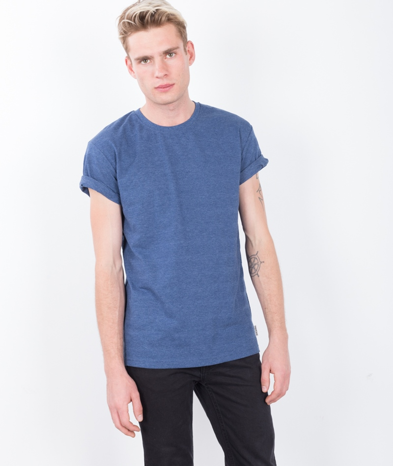 JUST JUNKIES Chai T-Shirt navy melange
