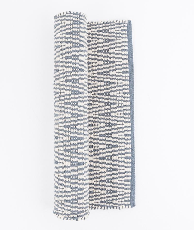 LIV Vienna Cotton Teppich grey/white
