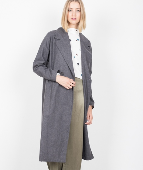 VILA Visaka Long Coat light grey melange