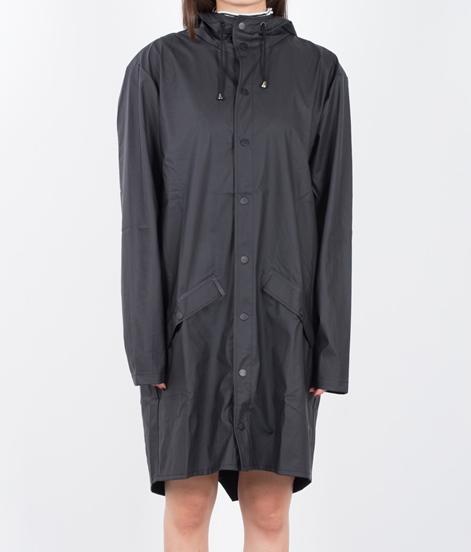 RAINS Regenmantel schwarz