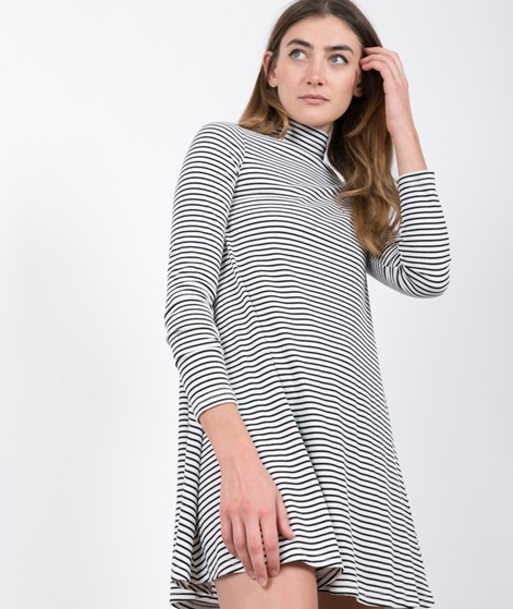 MINKPINK Remember Me Stripe Rib Kleid