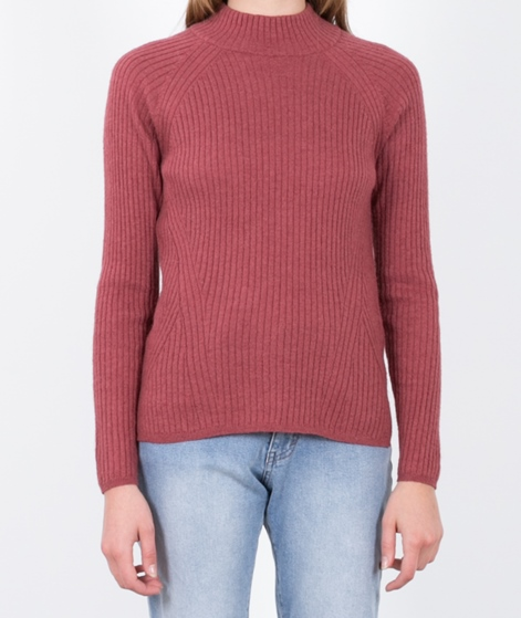 JUST FEMALE Sky Knit Pullover dark rose