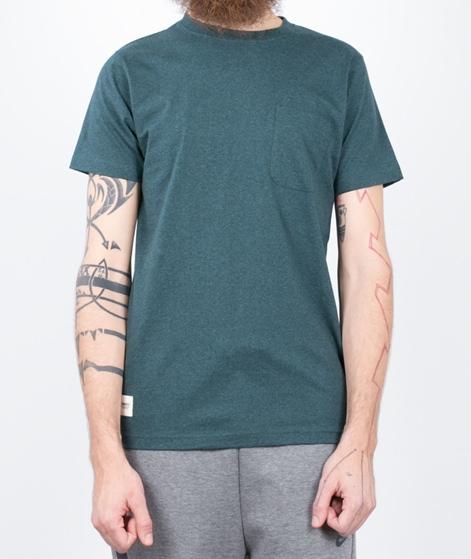 WEMOTO Blake T-Shirt petrol melange