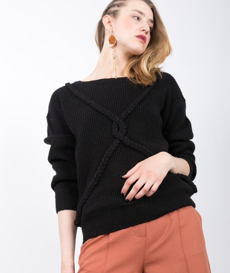 WEMOTO Gretel Pullover black