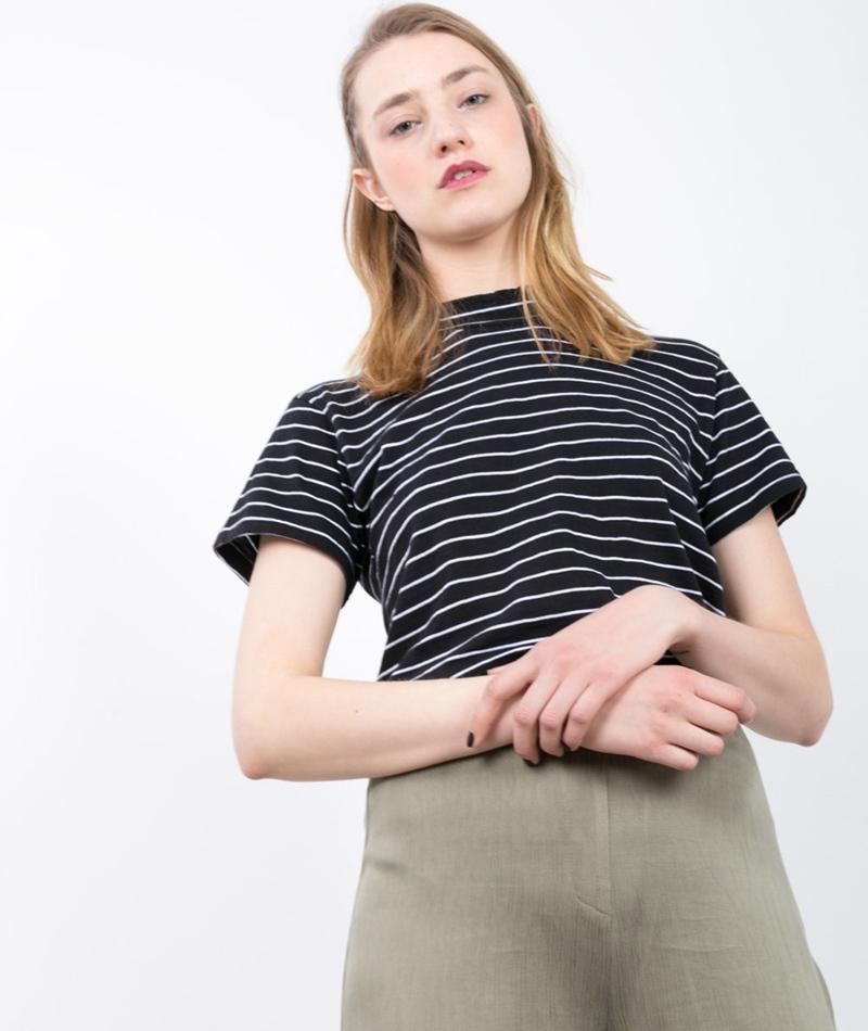WEMOTO Kilda T-Shirt white black