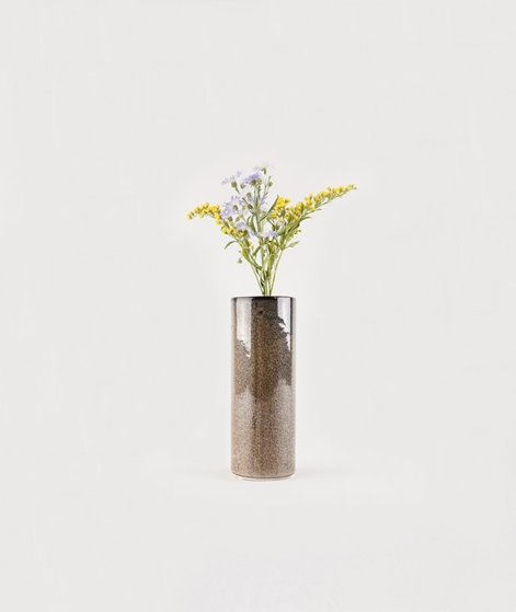 BLOOMINGVILLE Vase gr�n blau braun