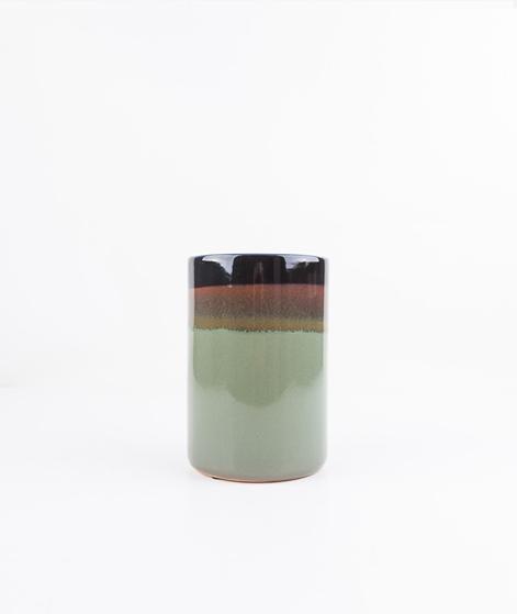 BLOOMINGVILLE Vase Farbverlauf grün brau