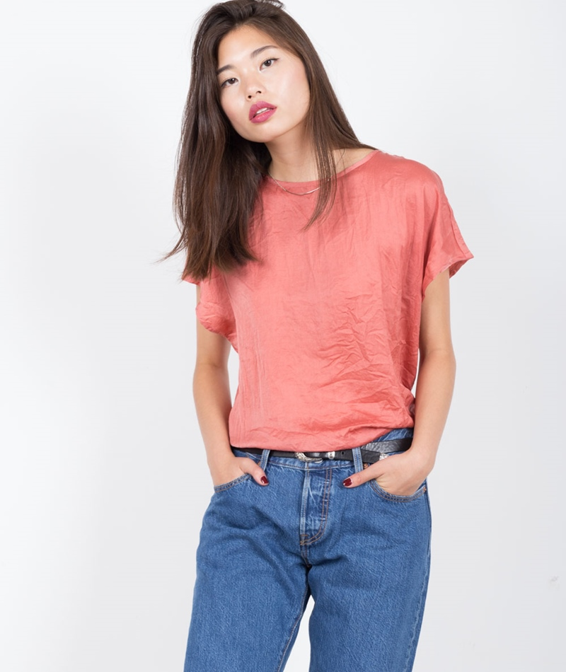 M BY M Delila Diana Bluse canyon rose