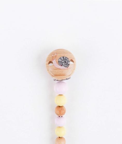 BLOOMINGVILLE Schnuller Clip rosa