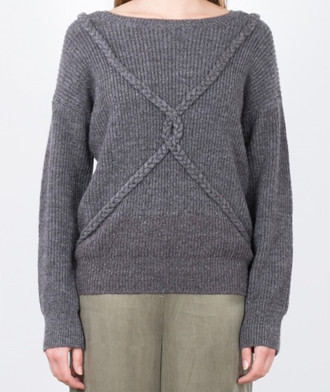 WEMOTO Gretel Pullover grey melange