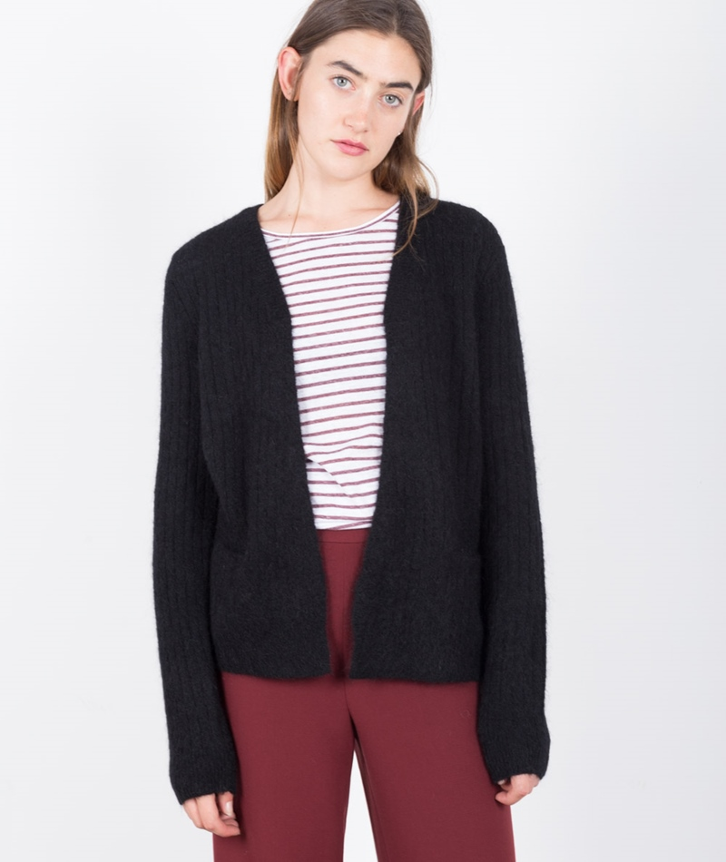 JUST FEMALE Zoe Cardigan black