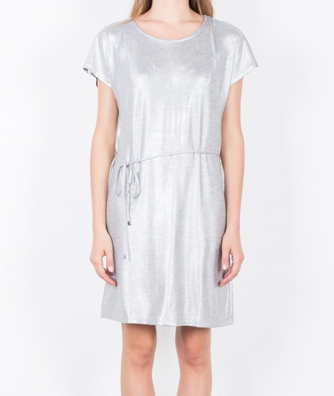 VILA Vileika S/S Kleid light grey