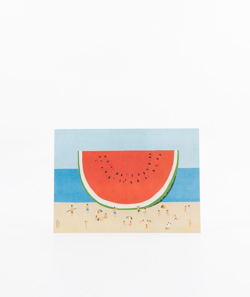 KLANGUNDKLEID Wassermelone am Strand