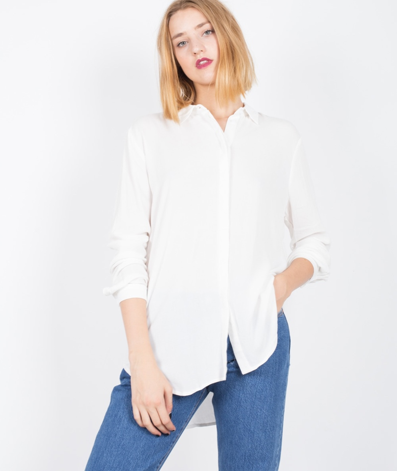 M BY M Hejsa Hattie Bluse sugar