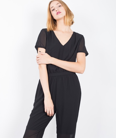 POP CPH Georgette Catsuit Overall black