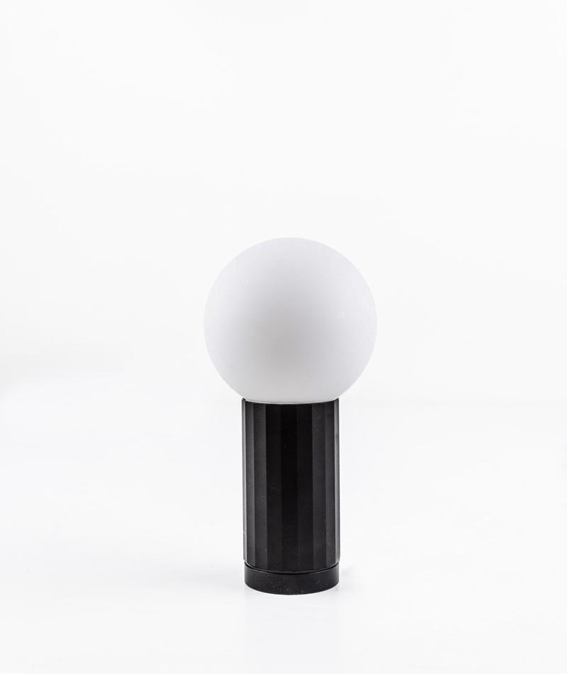 HAY Turn On Lampe signal black