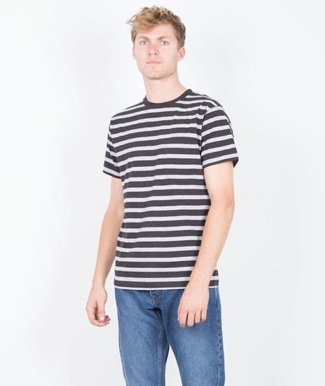 WEMOTO Blake Stripe T-Shirt black mel.