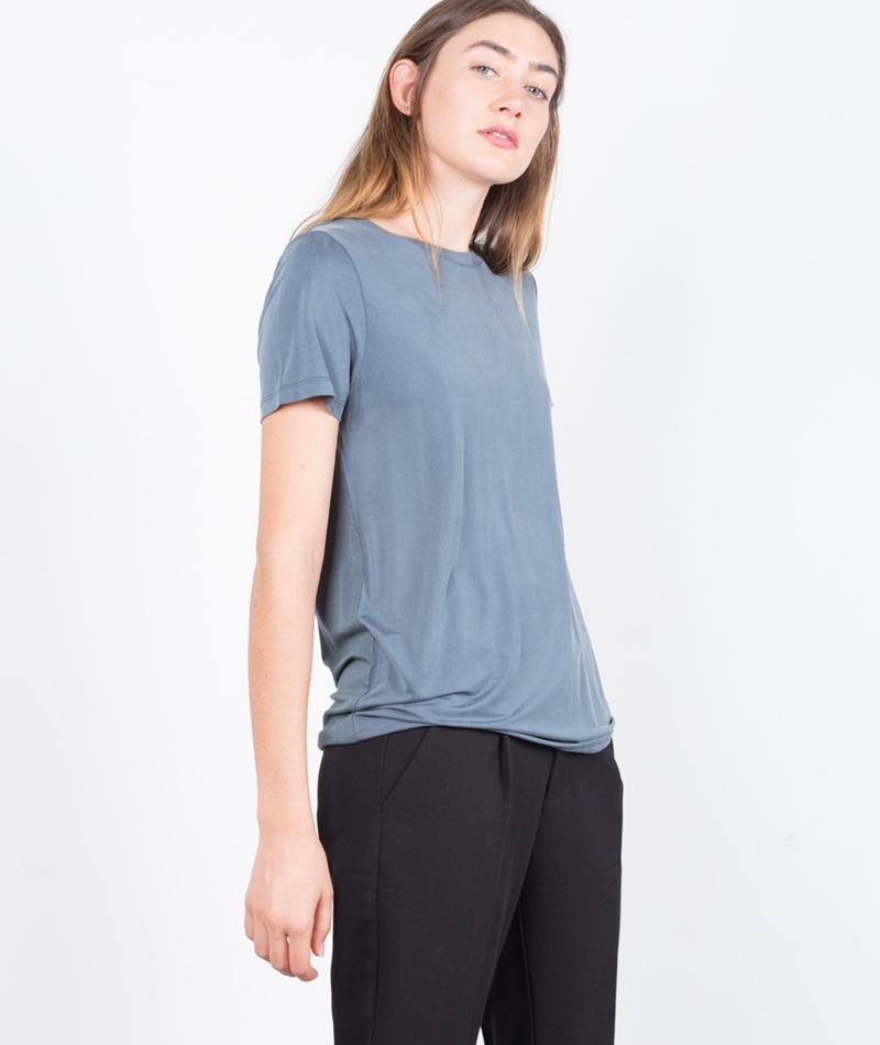 MINIMUM Rynah T-Shirt dark slate