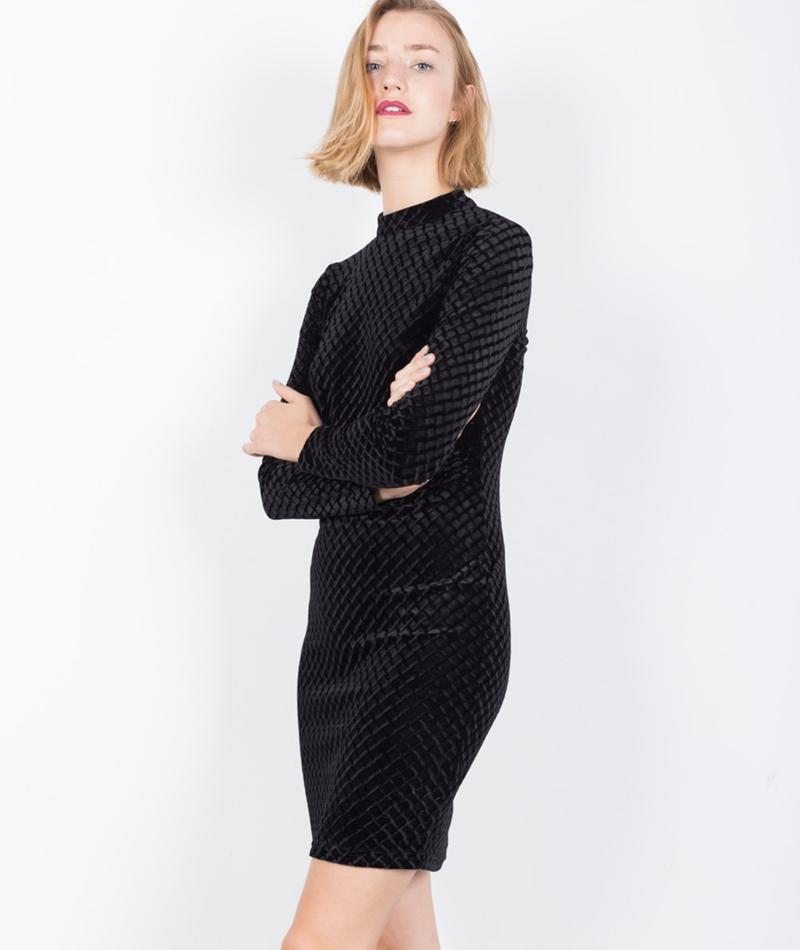 MINIMUM Sella Kleid black