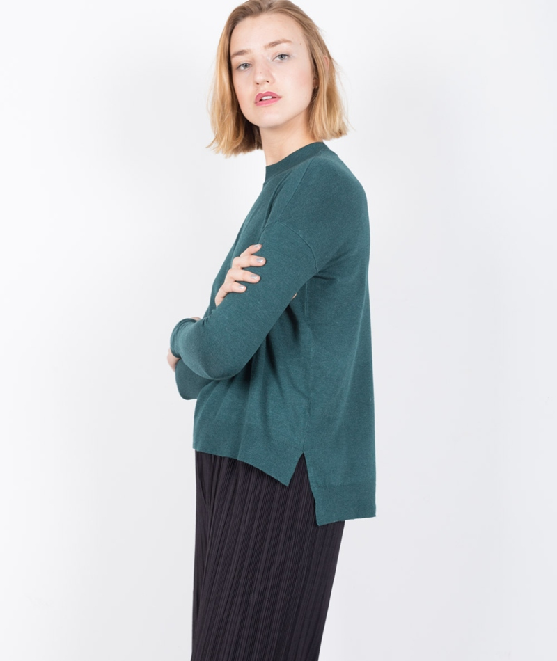 M BY M Fiola Freeman Pullover emerald