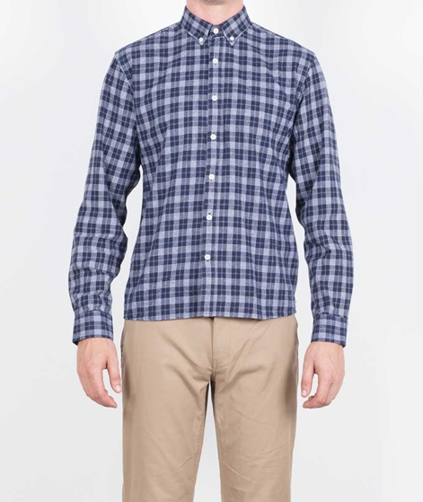 LEGENDS Coast Flanel Hemd navy white