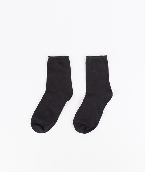 SELECTED FEMME Fie Glitter Socken black