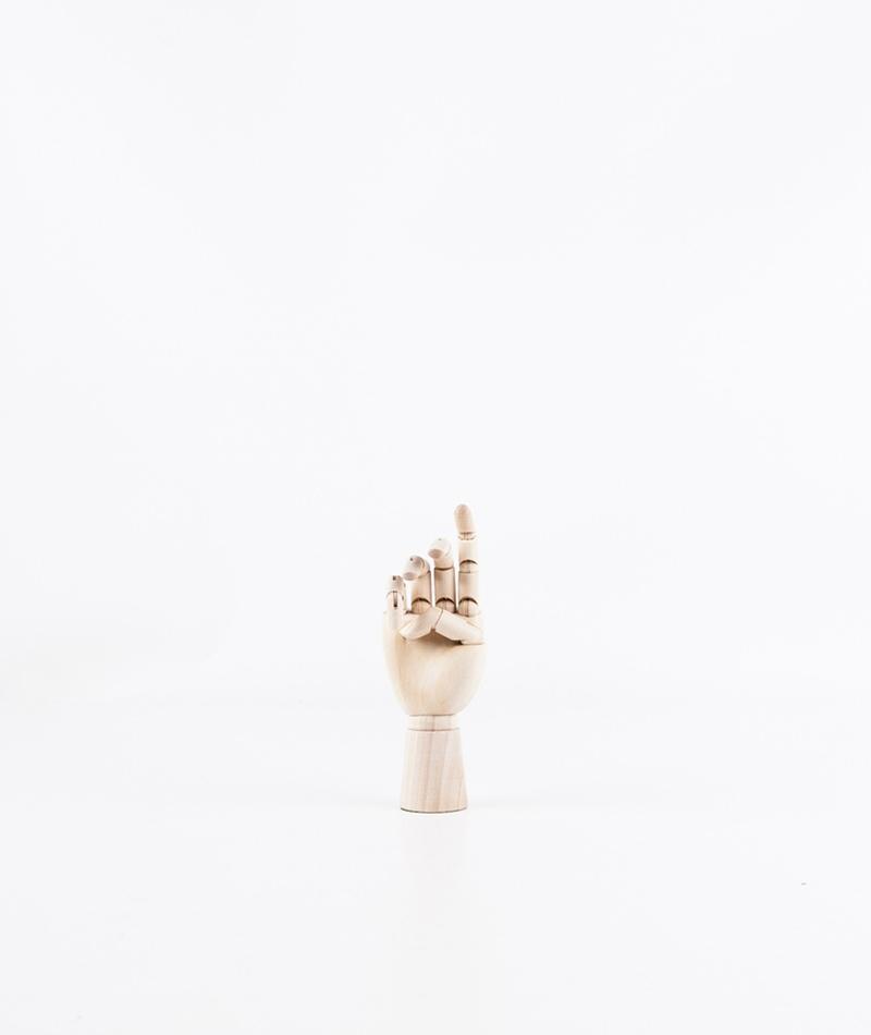 HAY Wooden Hand S Deko