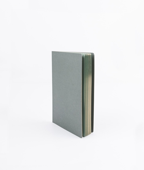 HAY Edge Notebook dark green