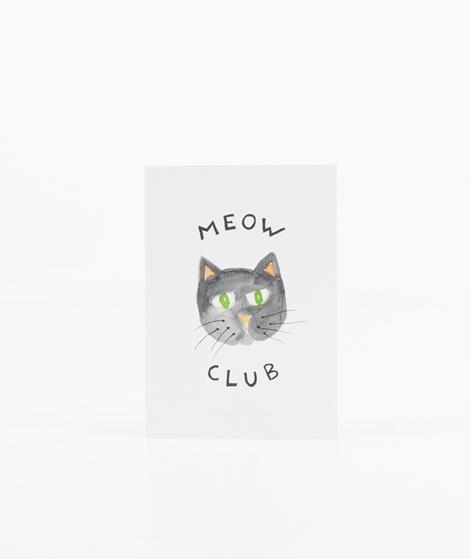 KAUF DICH GLÜCKLICH Postkarte Meow Club