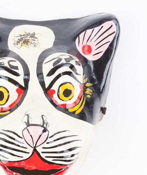 HAY Maske schwarze Katze