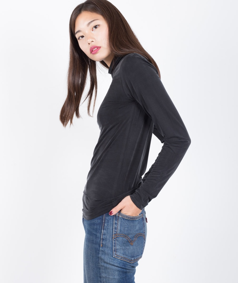 SECOND FEMALE Palva Longsleeve black