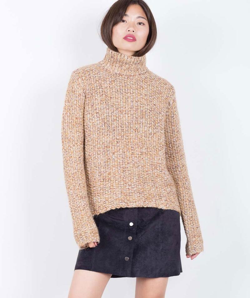 VILA Vilovable Knit Pullover sandshell