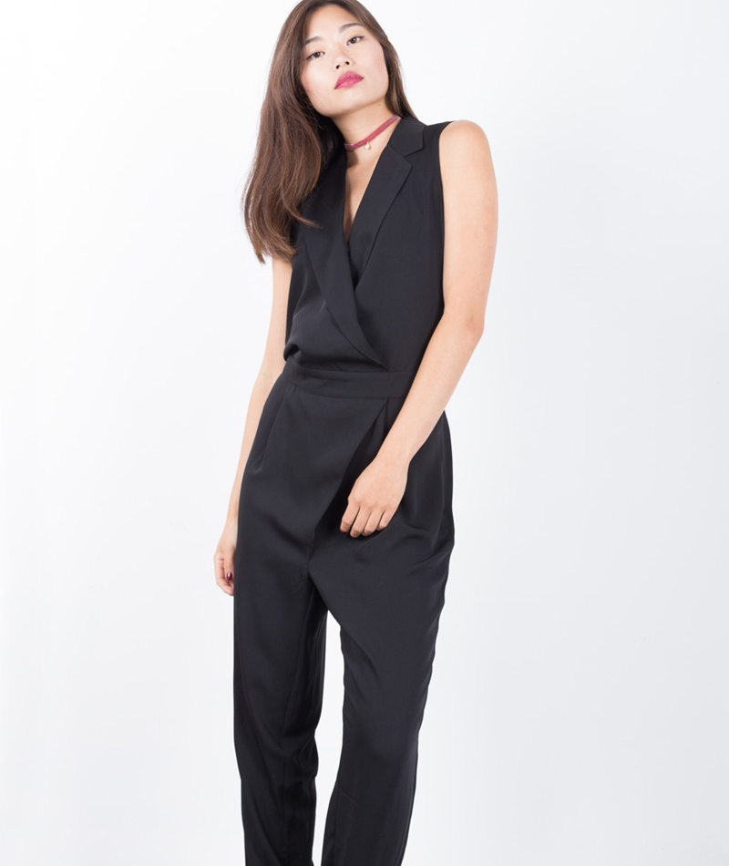 SELECTED SFNana Jumpsuit schwarz