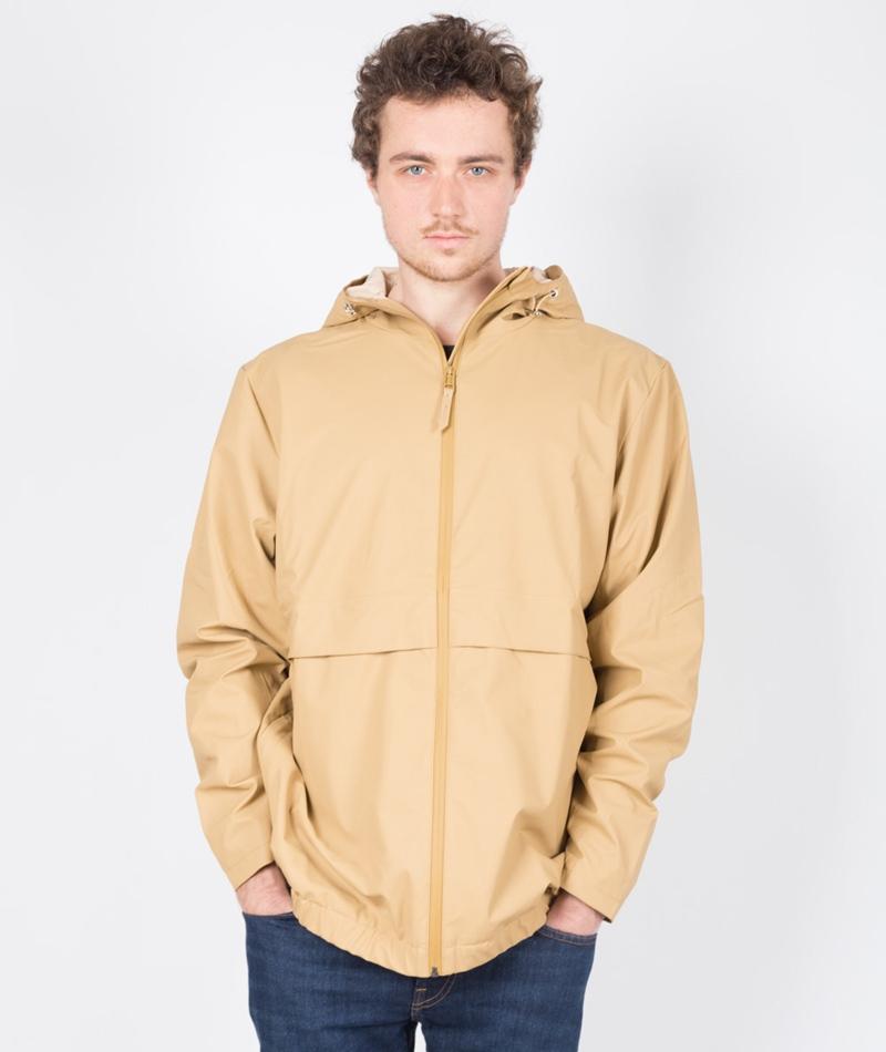 RAINS Free Jacke beige