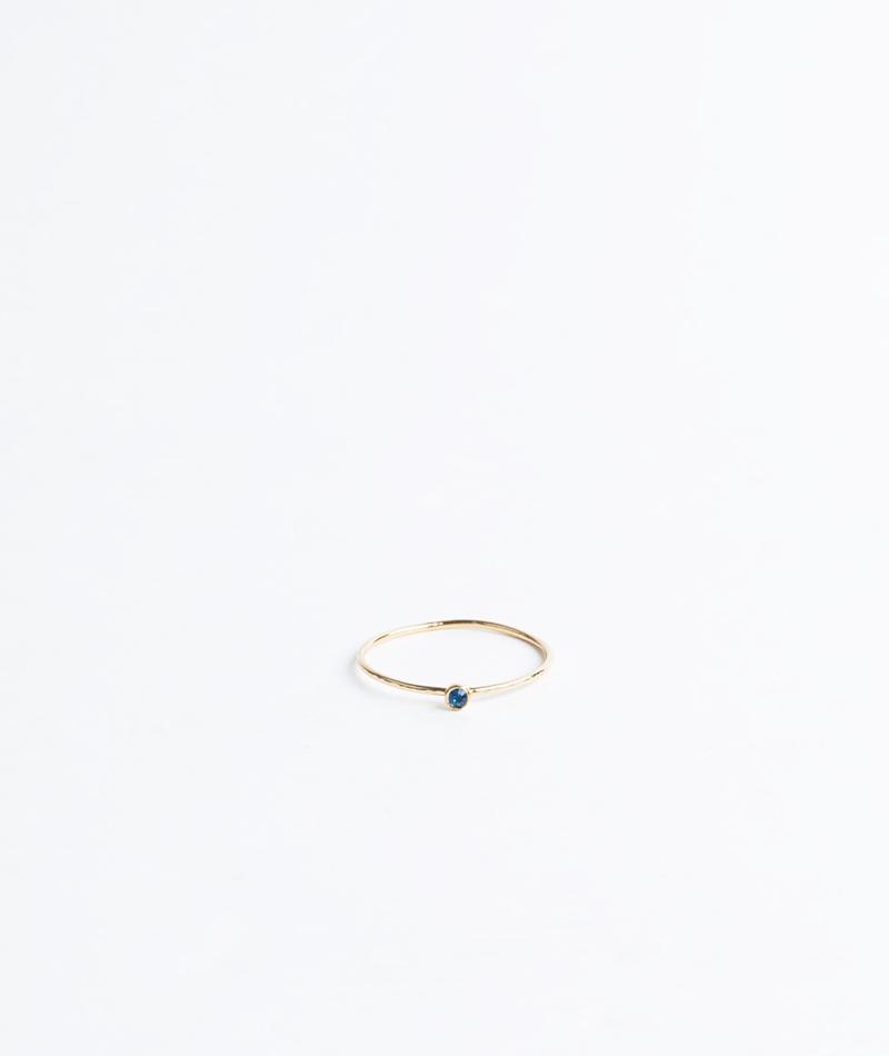 BDM STUDIO Orient Simple Ring capri blue