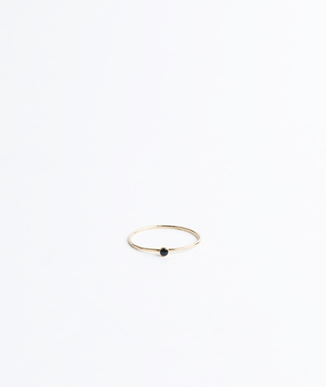 BDM STUDIO Orient Simple Ring black enam